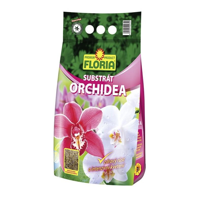 AGRO FLORIA substrát pro orchideje 3 l