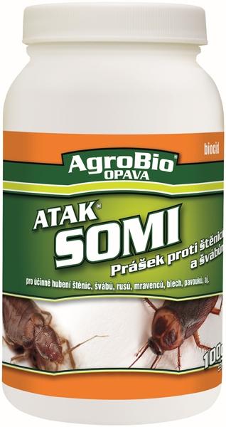 AgroBio Atak- Somi proti štěnicím a švábům 100g