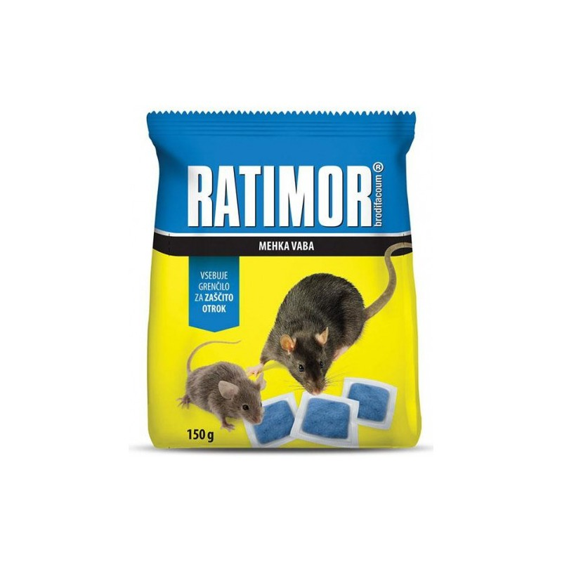 AgroBio Ratimor - měkká nástraha 150 g sáček