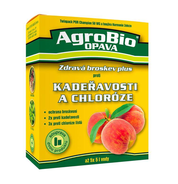 AgroBio Zdravá broskev Plus - souprava