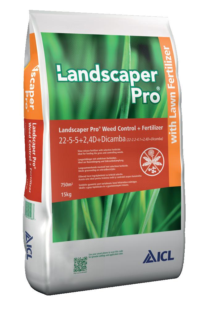 ICL Landscaper Pro® Weed Control 15 Kg - 2v1 hnojivo proti burinám