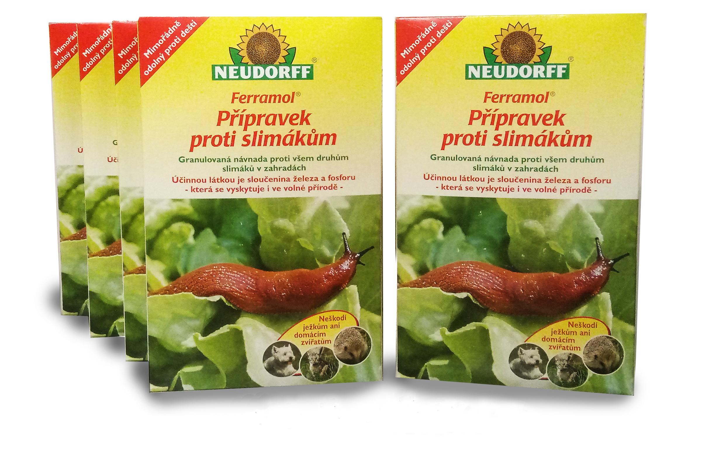 Neudorff Ferramol 5kg - prípravok proti slimákom