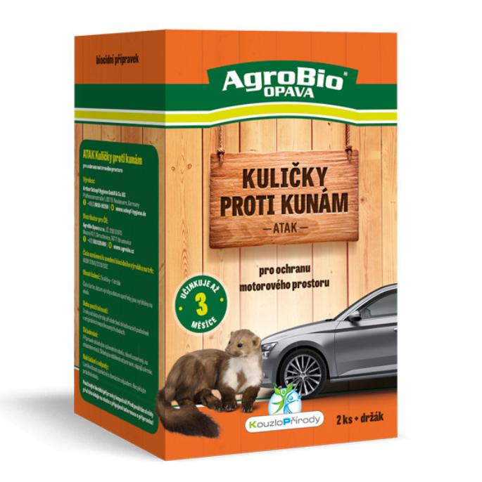 AgroBio ATAK - Kuličky proti kunám 2 ks