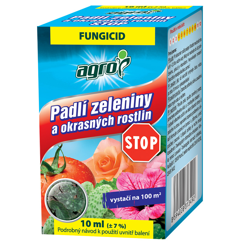 AGRO Padlí zeleniny a okrasných rostlin STOP 10 ml