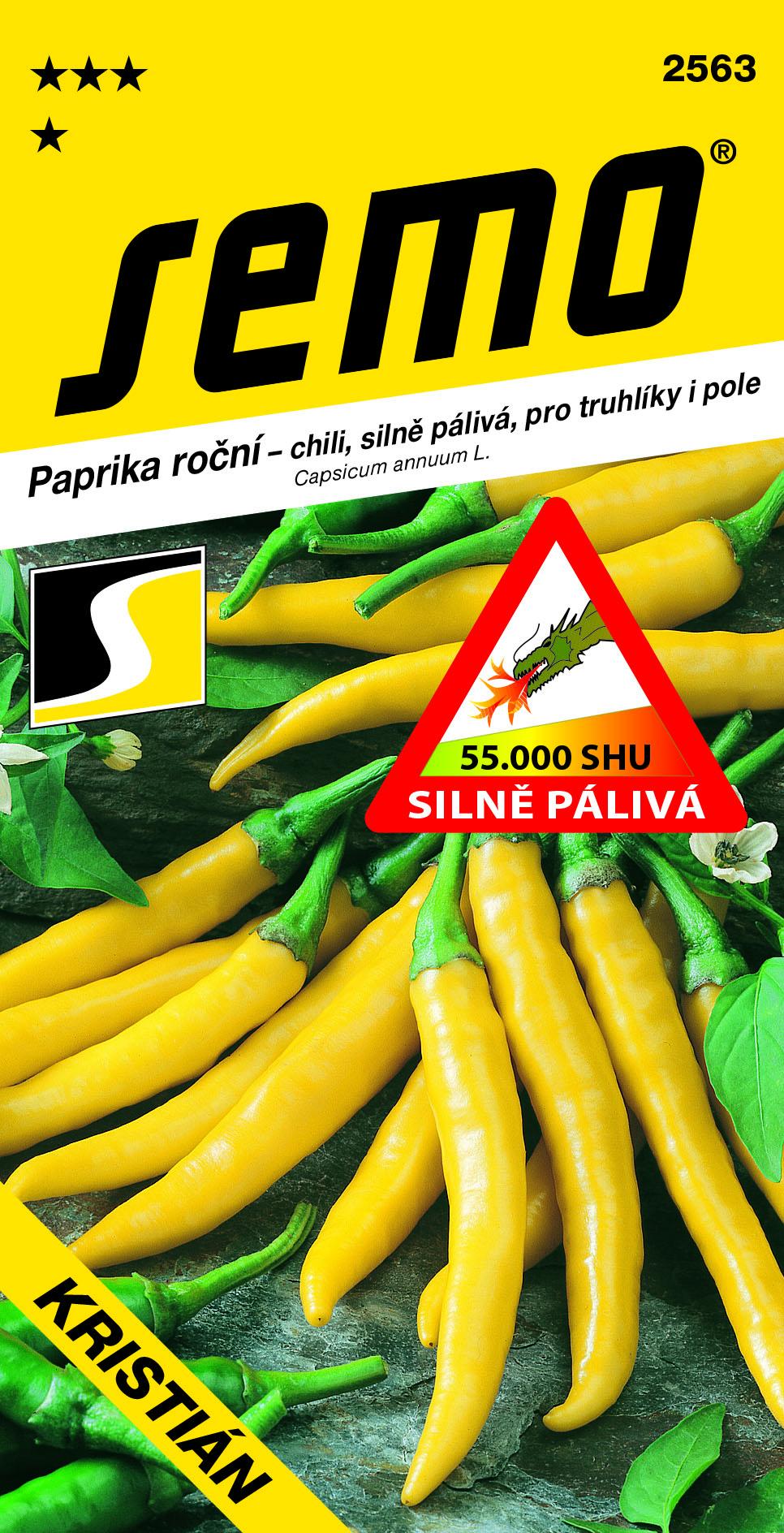 SEMO Paprika Kristiana chili žltá