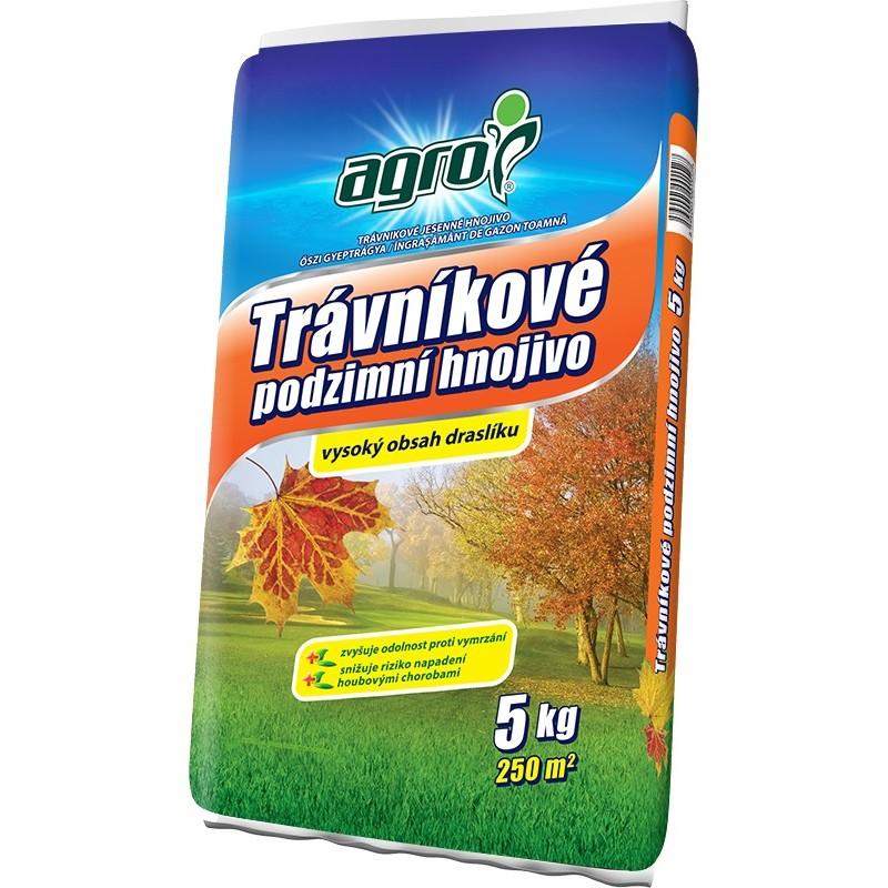 AGRO Jesenné trávníkové hnojivo 5 kg