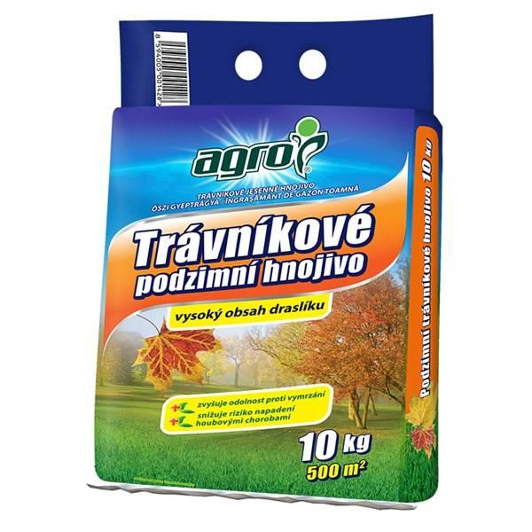 AGRO Jesenné trávnikové hnojivo 10 kg